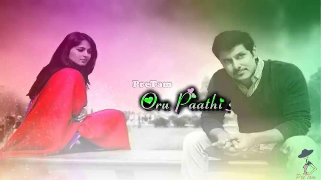 Oru Paadhi Kadhavu  Whatsapp Status Song -- Thaandavam
