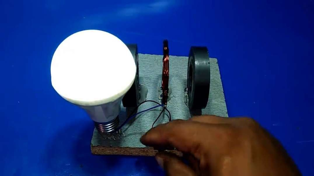Electricity with magnets copper wire output 12v | Electricity Producing At Home | Electricity