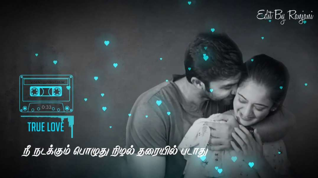 Nee nadakkum Pothe | Tamil Love Status Video