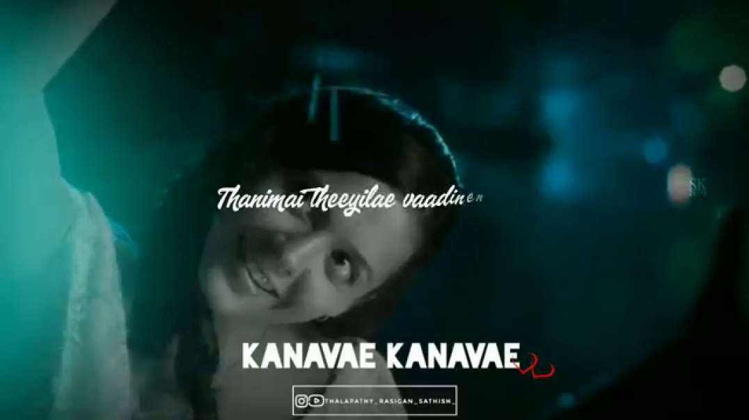 Kanavae kanavae song | love whatsapp status tamil | vikram song status