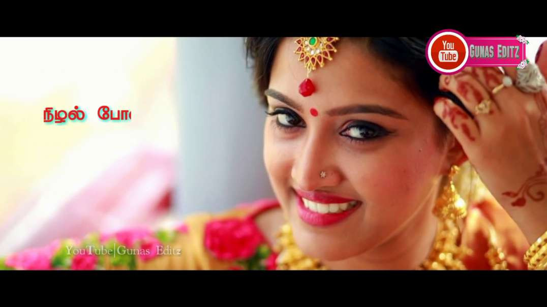 Poove Sempoove un vasam varum | Female WhatsApp status song |  Love status videos in Tamil