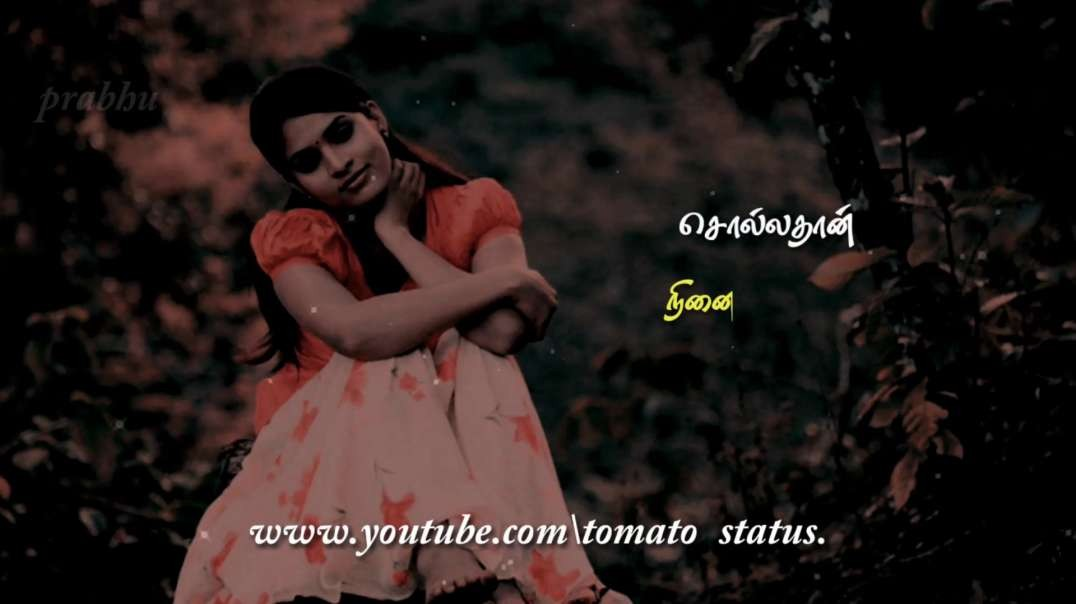 Sollathan Ninaikiren Song | kadhal sugamanthu | Female Sad feeling lyrics whatsapp status