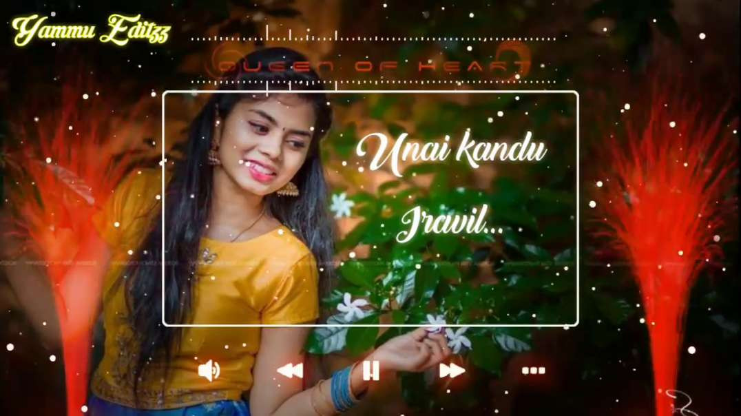 Unnai kandu Iravil song  | Whatsapp Status Love Song Tamil
